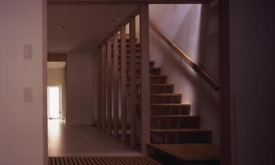 天満の家 (廊下・階段)