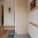 M邸 RE12の写真 土間のある玄関