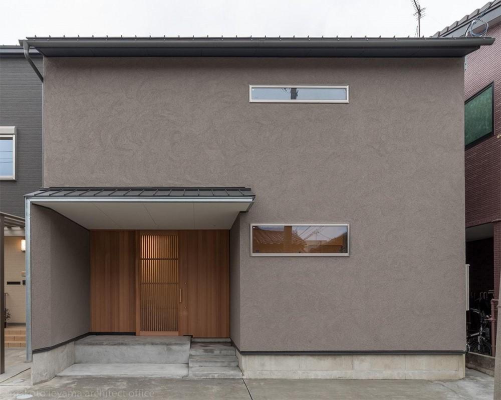 東山の家2|伝統環境保存区域の狭小敷地住宅 (外観)