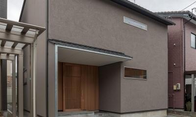 東山の家2|伝統環境保存区域の狭小敷地住宅