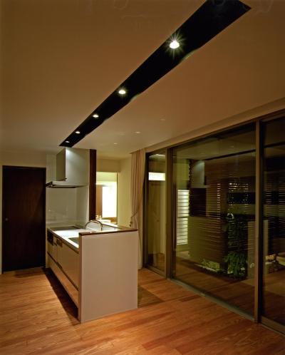 キッチン (N2-house 「切抜かれた家」)