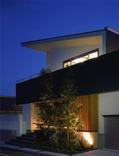 G-house 「景観の家」 (外観)