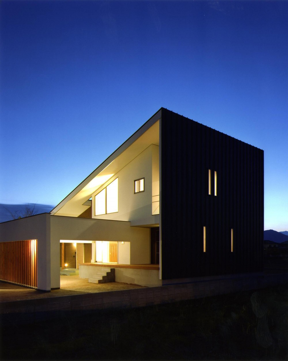 N3-house 「田園の家」 (外観)