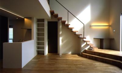 N3-house 「田園の家」 (リビングダイニング)