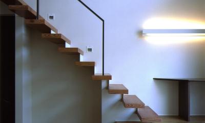 N3-house 「田園の家」 (階段)