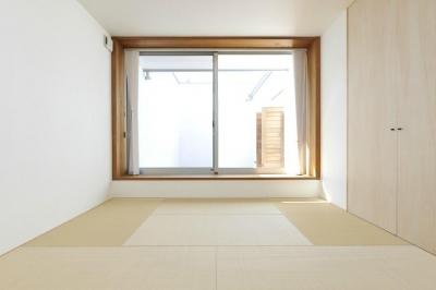 小上がりの畳スペース (KJ-house)