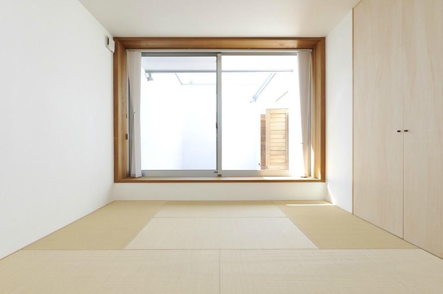 KJ-houseの部屋 小上がりの畳スペース