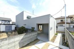 KJ-house (白い外観)