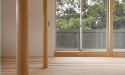 MUKURI house (2つの柱が連なる空間 2)