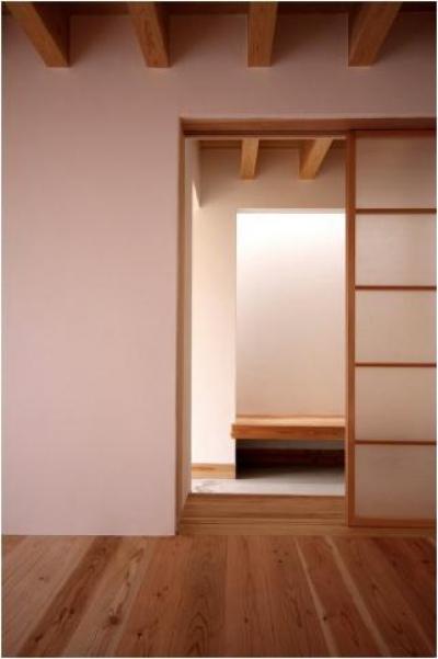 smoke hut (上り框)