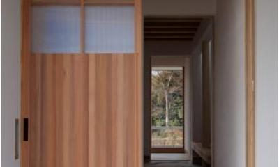 smoke hut (玄関)