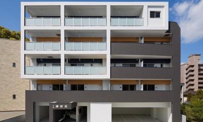 M-B.L.D 「曲線と直線の建築」