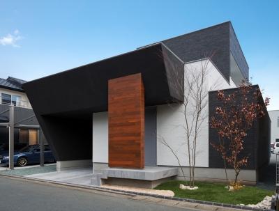 外観 (M6-house 「幾何学の家」)
