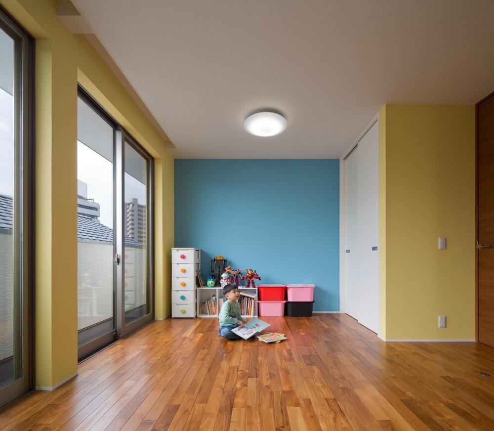 M6-house 「幾何学の家」 (部屋)