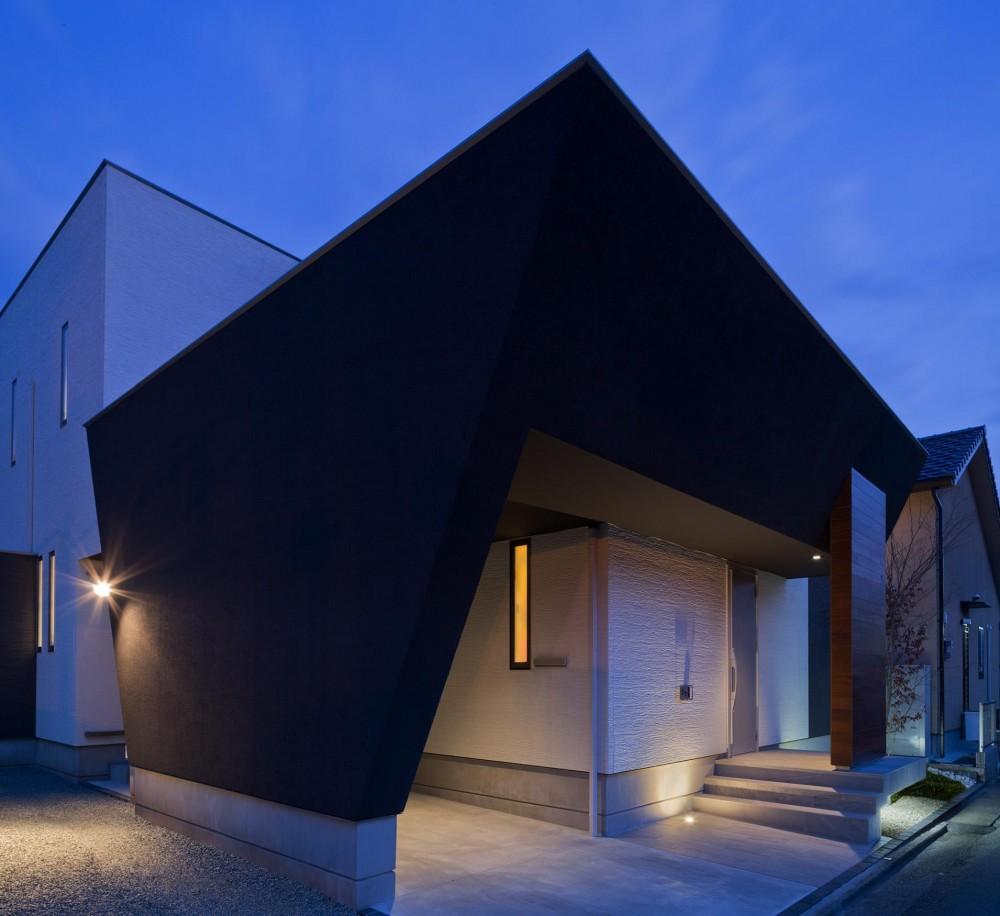 M6-house 「幾何学の家」 (外観)