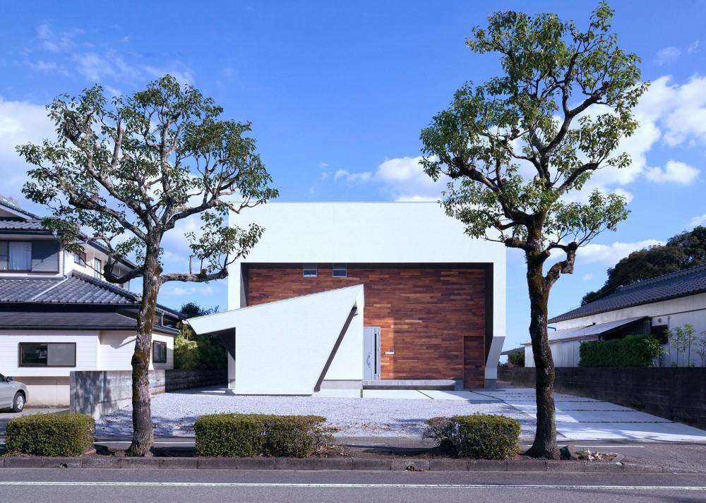 I3-house 「丘の上にある造形」 (外観)
