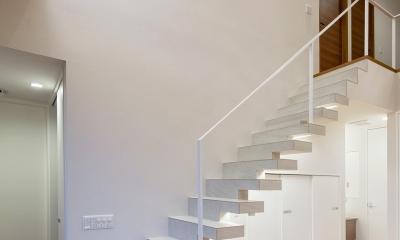 I3-house 「丘の上にある造形」 (階段)
