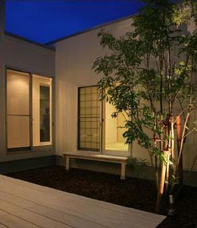 Takeo I-Houseの写真 中庭・テラス
