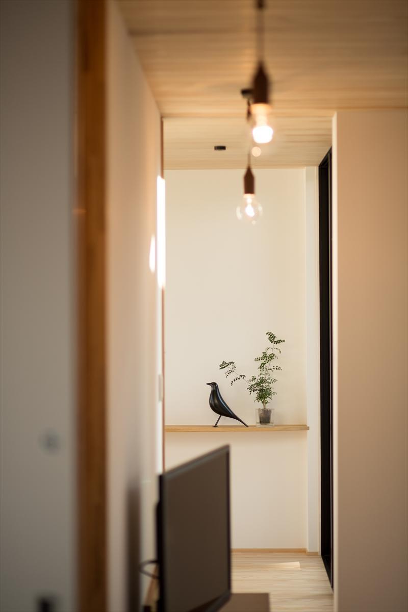 平屋・回廊の家の部屋 飾り棚