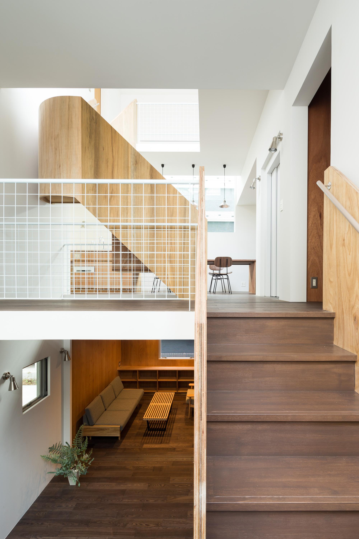 板橋の立体住居の部屋 それぞれの階にあるミニキッチン