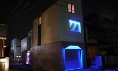 Garage House Type Ha (外観)