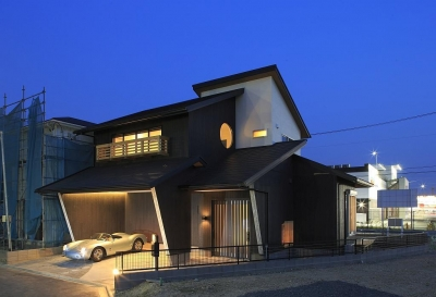 Garage House Type HN (外観)
