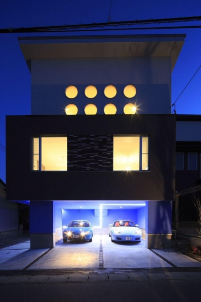 Garage House Type TD (外観)