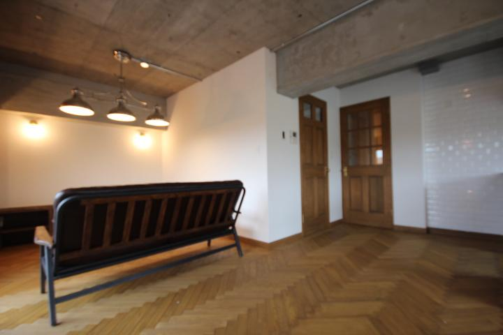 鷺沼リノベの写真 リビング(廊下への建具)