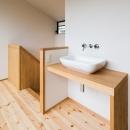 自然の恵みを感じる家の写真 2階手洗い場