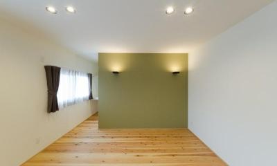 『黒瀬の家』 赤瓦の日本家屋リノベーション (主寝室)