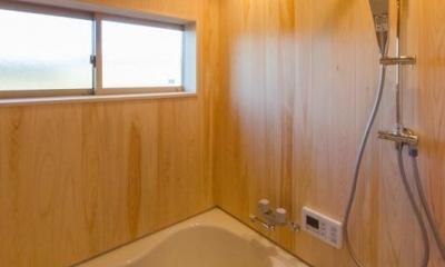 『黒瀬の家』 赤瓦の日本家屋リノベーション (浴室)