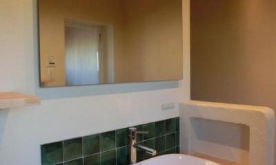洗面室|『黒瀬の家』 赤瓦の日本家屋リノベーション