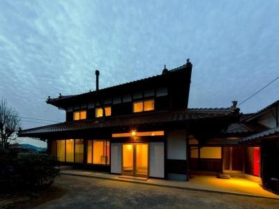 『黒瀬の家』 赤瓦の日本家屋リノベーション (外観)
