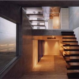 宮前の家 (地下室の入り口)