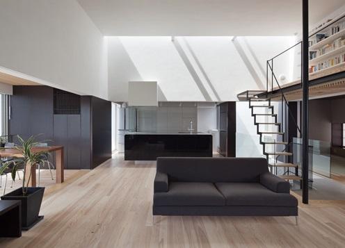 下馬の家の部屋 開放的なLDK(オ-プンキッチン)+和室