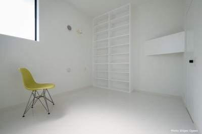 寝室 (中庭のあるスキップフロアの家・オウチ32)