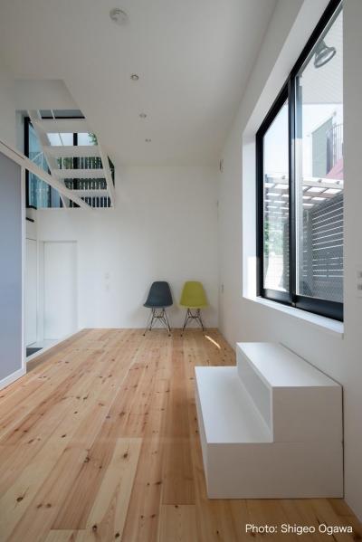 子供室 (中庭のあるスキップフロアの家・オウチ32)