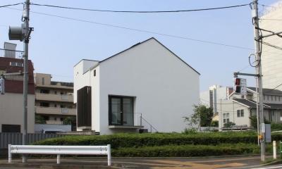 中庭のあるスキップフロアの家・OUCHI-32