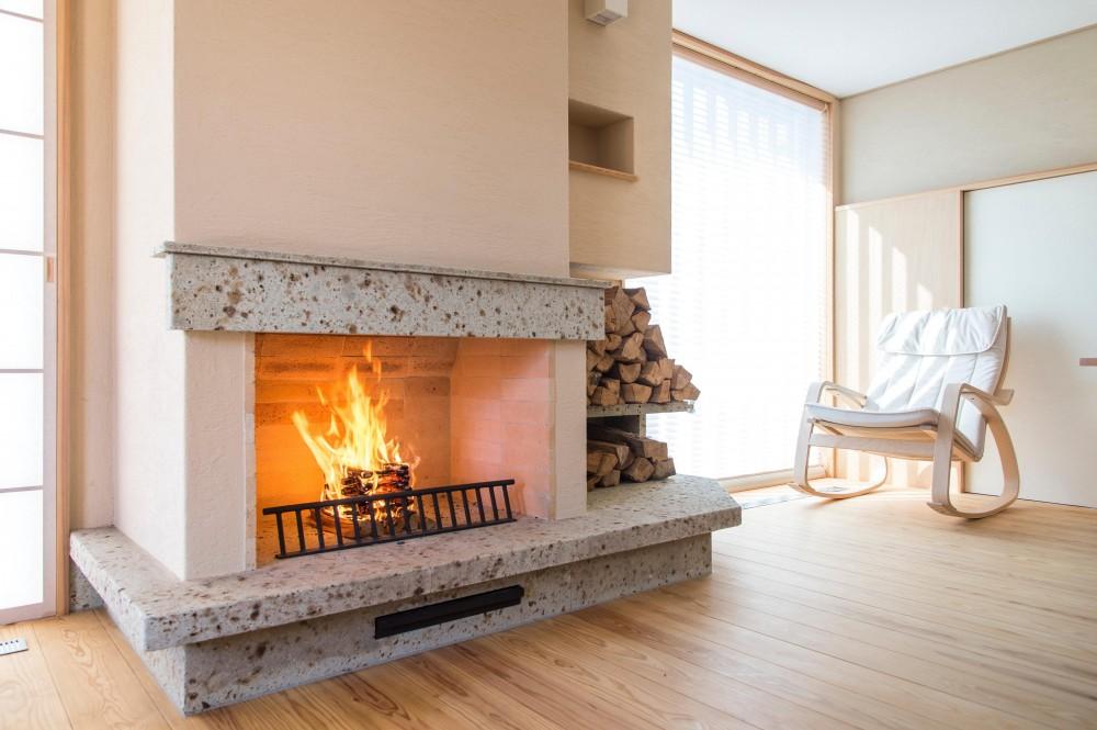 建築家:網田一久「暖炉のある家」
