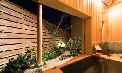 宮司の家/古民家再生 (浴室)
