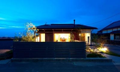 うきはの家 (夜景)
