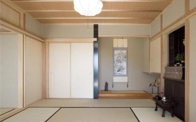 和室 (ながさ木の家)