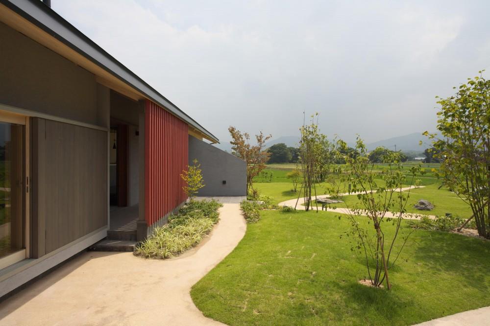 前原の家 (庭)