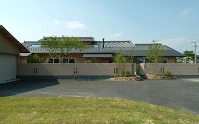 外観 (柳川の家)