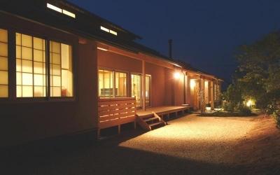 庭 (柳川の家)