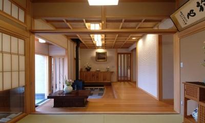 玄関|柳川の家