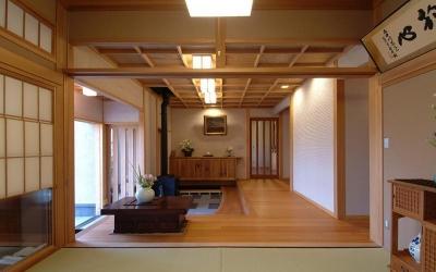 玄関 (柳川の家)