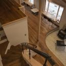 次世代に引き継ぐ家 −世田谷の民家再生−の写真 階段