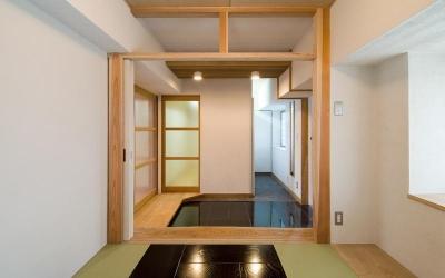 玄関 (久留米の家/マンションリフォーム)