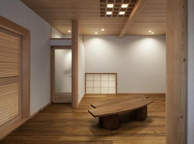 2階板間 (次世代に引き継ぐ家 −世田谷の民家再生−)